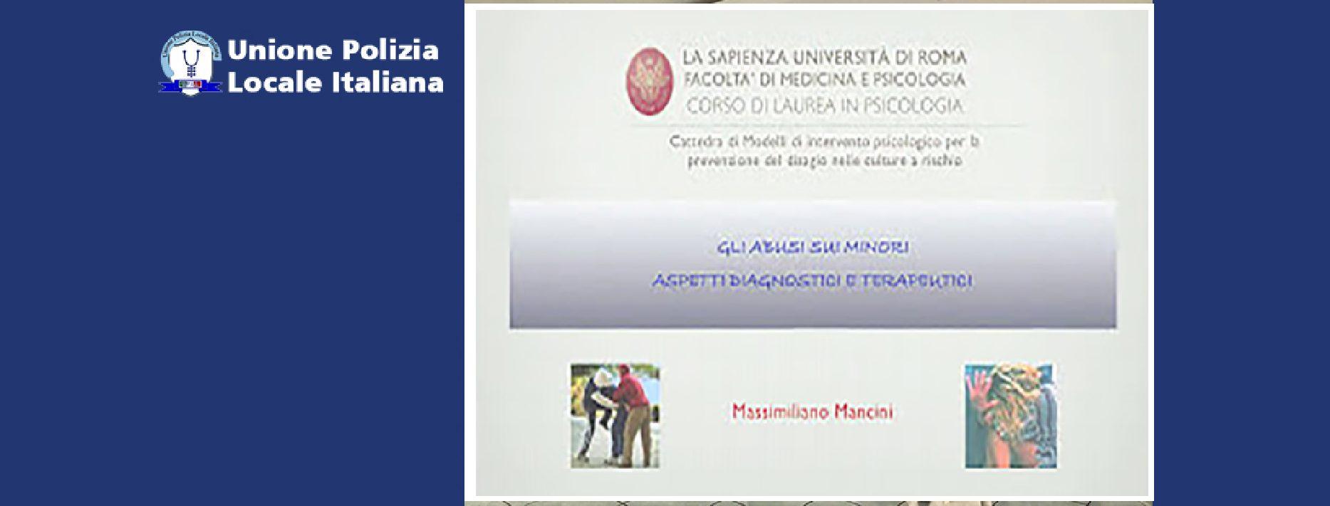 ABUSI SUI MINORI (di M.Mancini)-Lezioni Roma La Sapienza. Parte 3