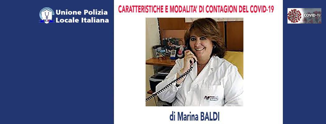 CARATTERISTICHE E MODALITA' DI CONTAGIO DEL COVID-19 di M.Baldi