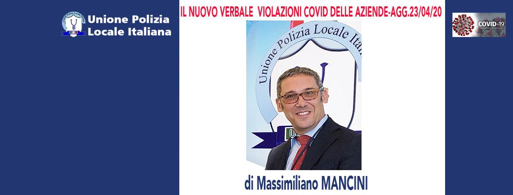 MODELLO VIOLAZIONI NORME COVID DELLE AZIENDE-AGG.23/04/2020 di M.Mancini