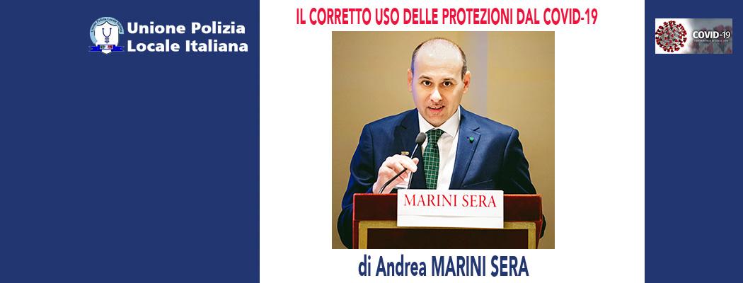 USO DELLE MASCHERINE DI PROTEZIONE COVID-19 di A.Marini Sera