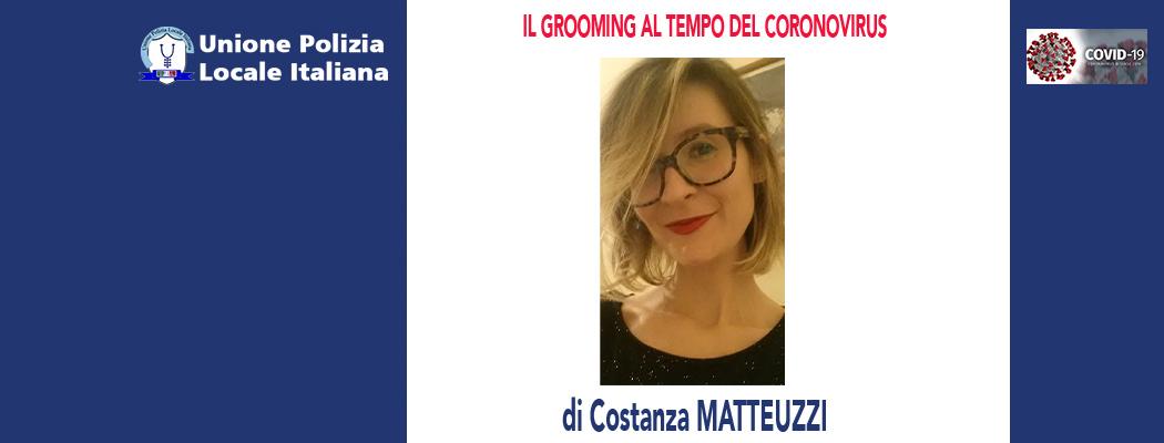 IL GROOMING AL TEMPO DEL CORONAVIRUS di C.Matteuzzi