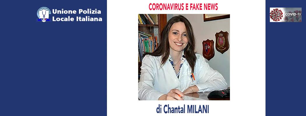 CORONAVIRUS E FAKE NEWS di C.Milani