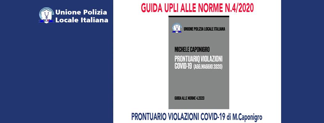 GUIDA ALLE NORME 4/2020-PRONTUARIO COVID-19 (agg.maggio 2020)