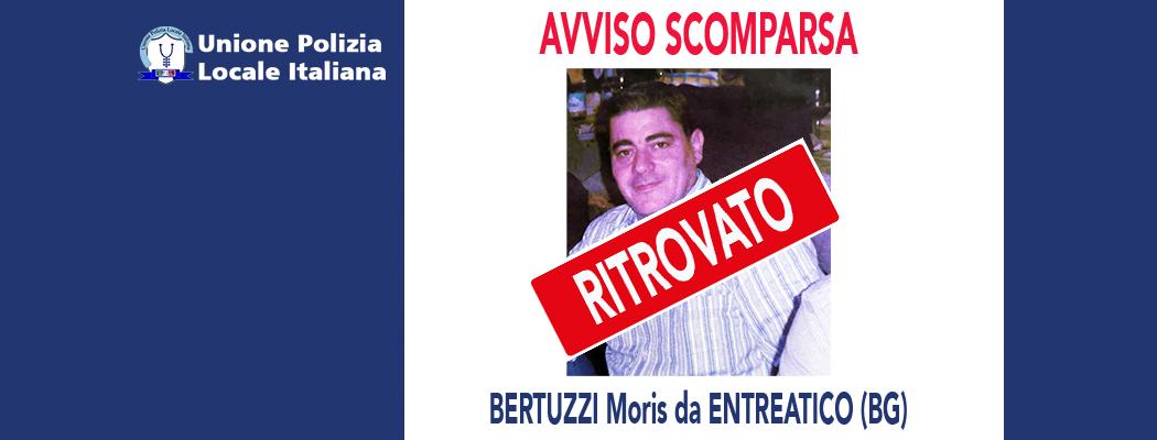 RITROVATO: BERTUZZI MORIS DA ENTRATICO (BG)