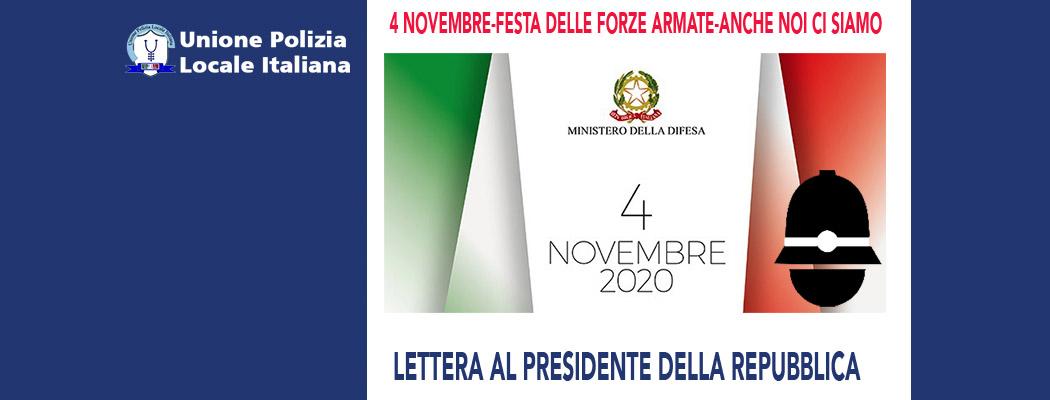 FESTA DELLE FORZE ARMATE 2020 - ANCHE NOI DELLA POLIZIA LOCALE CI SIAMO!