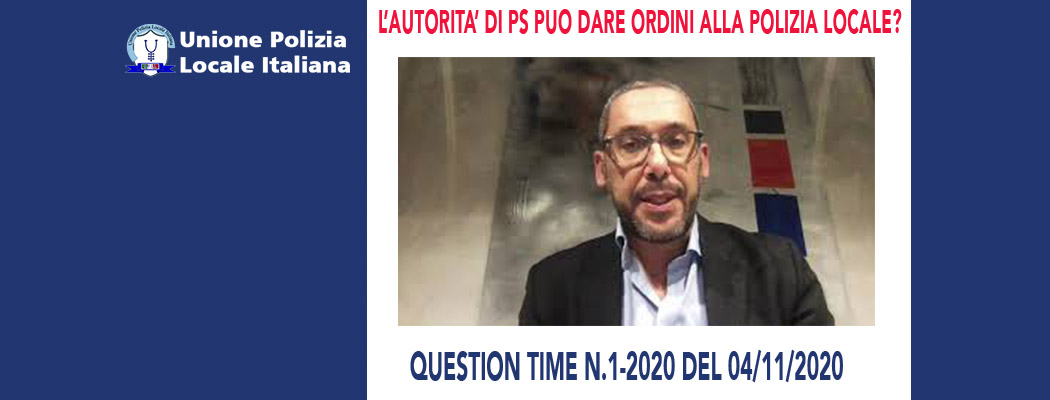 QUESTION TIME N.1 -VIDEO RISPOSTA A QUESITI di M.Mancini