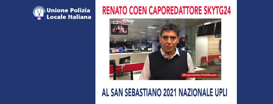 RENATO COEN DI SKY ITALIA ALLA DIRETTA NAZIONALE UPLI PER IL SAN SEBASTIANO