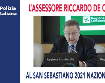 RICCARDO DE CORATO ALLA DIRETTA NAZIONALE UPLI PER IL SAN SEBASTIANO