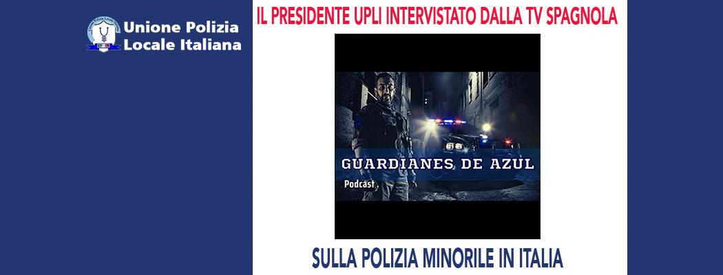 IL PRESIDENTE UPLI INTERVISTATO DALLA TV SPAGNOLA