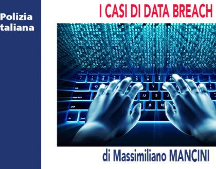 I CASI DI DATA BREACH di M.Mancini