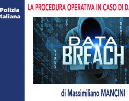LA NOTIFICA DEL DATA BREACH di M.Mancini